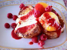 Peach Melba...one of my favorites