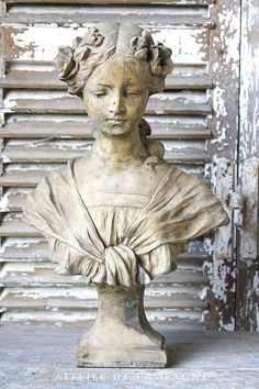 I have this same bust.  Love it!
