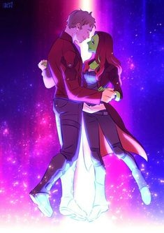 Dance with me || Starlord & Gamora || Avengers Infinity War Guardians of the galaxy || Cr: 澈(Che)