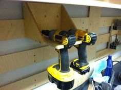 Cordless Drill, French Cleat.