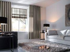 Rolgordijnen Slaapkamer 13 : Beste afbeeldingen van gordijnen in de woonkamer roobol