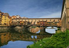 Ponte Vecchio, near one of Florence's best gelaterias