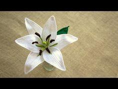 Crochet Tulip | MARYJ HANDMADE - YouTube