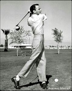 Frank and golf
