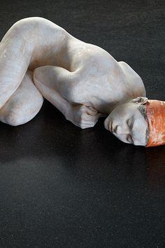 Bruno Walpoth Die Stille in mir - linden wood - cm. 124 x 60 x 31 - 2014