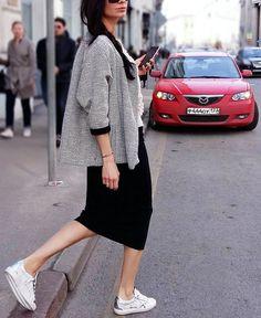 #lookoftheday Жакет #forte, трикотажная юбка-карандаш #replica ☆ в паре с кедами #ggdb смело отправляйтесь на прогулку, а сменив их на шпильки - в ресторан ☺ Коллекции ss16 уже представлены в Литц ! Welcome! #streetstyle#instafashion#streetfashion#moda#fashion#новыеколлекции#new#womancollection#womanstyle#womanfashion#trends#sneakers#литц#петровка15#добропожаловать