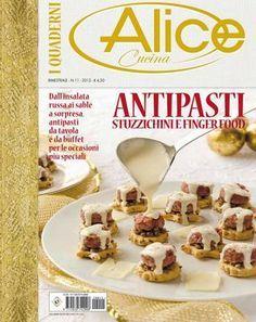 Alice cucina quaderni Antipasti