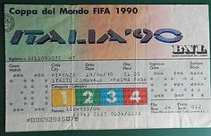 1990 world cup #finals - match ticket.  usa vs. austra. group. #19/6/1990 #(sl/cr,  View more on the LINK: 	http://www.zeppy.io/product/gb/2/201778704229/