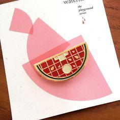 Image of Playground Pins: Watermelon