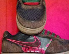 Hand painted 'Nightmare on Elm Street'  custom shoes