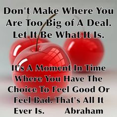 "#Zbohom A Pis - Abraham Hicks ""Let it be what it is."" www.bmertus.com"