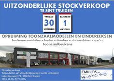 Stockverkoop De Warande keukens (ook badkamer) -- Sint-Truiden -- 30/09-01/10