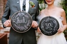 Wedding thank you's ~ we ♥ this! moncheribridals.com