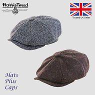 8b3c131cab865 Hats Plus Caps · Genuine Scott Harris Tweed Newsboy Cap Peaky Blinders  Baker Boy Hat 100% Wool Gatsby Hat