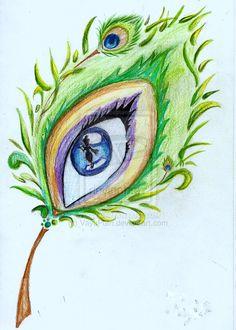 peacockfeatherdrawing peacock feather eye by vayuputri on deviantart