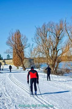 SJAM Winter Trail - Ontario Ski Trails O Train, Ottawa River, Nordic Skiing, Trail Maps, City Limits, Cross Country Skiing, Winter Activities, Best Cities