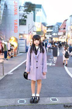 cute style ... Mayu, 19 years old, student   13 April 2015   #Fashion #Harajuku…
