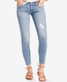 Levi's 711 Twisted Seam Skinny Jeans