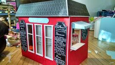 American Girl Doll Play: Creating a French Bakery of Our Own