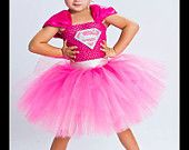 I'M BATGIRL Batman Inspired Tutu Dress Large by goodygoodytutus