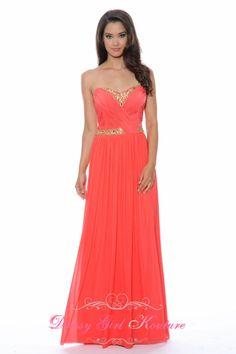 Decode 1.8 182262 charming #coraldress #BridesmaidDress2014 #PromDress2014 $278.00