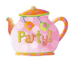 Tea Party Large Invitations - Party City