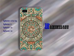 iPhone 5 Case iphone 5s case iphone 5c case Mandala by hamimelons, $7.99