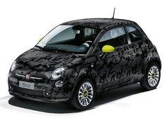 Imagens de Carros FIAT 500 CAMOUFLAGE - PlanetCarsz
