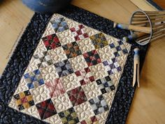 Heartspun Quilts ~ Pam Buda: Tiny Nine Patch Quilt Finished!