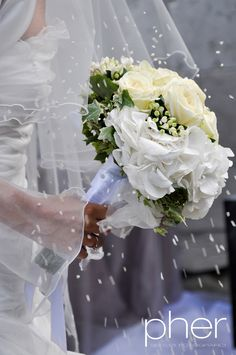 Bouquet - wedding reportage in Italy - Padua - PHER - Riccardo Ceccato - Elisabetta Celentin