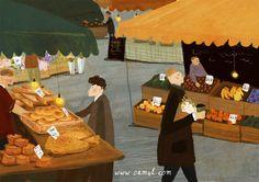 ZsaZsa Bellagio – Like No Other: Whimsy & Delight! Love Illustration, Digital Illustration, Let's Make Art, Color Script, Abstract Portrait, Acrylic Colors, Food Illustrations, Book Design, Decoration