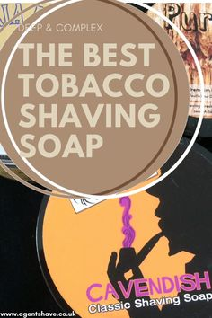 Tobacco scented shaving soap can deep and complex. In general, a tobacco scent doesn't always have a great reputation with the thought of stale cigarette smoke often coming to mind. Shaving soap artisans strive debunk this myth by creating the perfect tobacco scent - from classic Italian Toscan cigar to the sweeter scent of the tobacco flower. Which tobacco shaving soap should you use for your shave? At Agent Shave we have picked the best tobacco shaving soaps for your wet shave Classic Shaving, Cigarette Smoke, Soap Maker, Shaving Soap, Classic Italian, Soaps, Artisan, Good Things, Deep