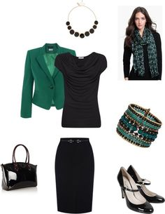 """True Winter Dramatic Classic 10 pieces"" by sm137 on Polyvore"