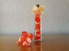 Decorative Silk Floral Arrangement in a Bottle by BottledBouquet