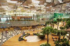 i <3 Changi Airport & Singapore - i need to go back soon | the airport has been voted the Best airport in the world by nearly every publication, just about every year.
