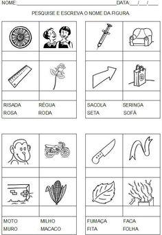 #BaiduImage atividades com consoantes letra cursiva alfabetizaçao_Pesquisa do Hao123