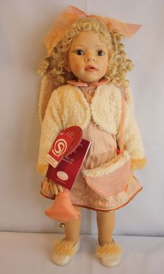 "GOTZ Noelle 23"" Doll Elisabeth Lindner Made in Germany 2002 #Gotz #DollswithClothingAccessories"