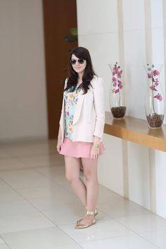 A linda Lia do blog Just Lia, postou um look usando Via Scarpa, morremos de amores <3 <3 <3