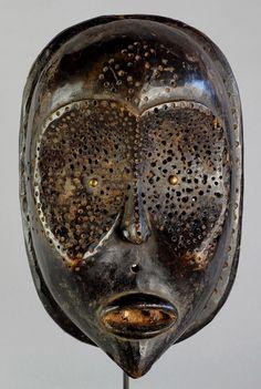 Rare masque mask Bena Lulua - Luluwa - Congo DRC Art aficain Art tribal African art