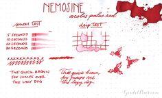 Nemosine Ink - Aeolis Palus Red