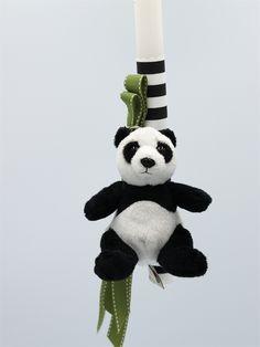 λαμπάδες πασχαλινές με panda, annassecret, Χειροποιητες μπομπονιερες γαμου, Χειροποιητες μπομπονιερες βαπτισης