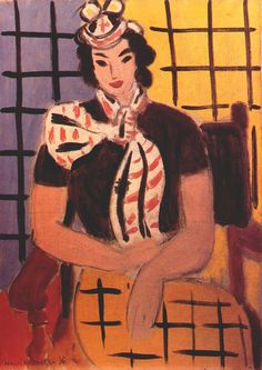 The Creole (Woman with Scotch Scarf). 1936. Henri Matisse