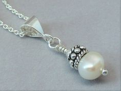 Hey, I found this really awesome Etsy listing at https://www.etsy.com/listing/462129088/sterling-silver-pearl-pendant-necklace