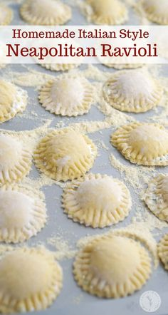 Learn how to make homemade Italian style Neapolitan Ravioli. It's easier than you think and perfect for Sunday dinner or holiday gatherings.