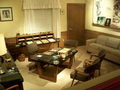 Walt Disney's office.