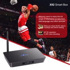 Android 6.0 Smart Internet TV Box X92 S912 PRO Amlogic S912 2GB/16GB OEM TV Box on Made-in-China.com