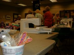 Members of the Princeton Chapter of the American Sewing Guild met on Saturday, July 13, 2013; nearly 20 attendees gathered at the Pemberton Library in New Jersey for a day of sewing fun.