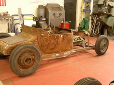 Rat Rod Build, Ford Roadster, T Bucket, Bad To The Bone, S Car, Vintage Racing, Ford Models, Kustom, Custom Cars