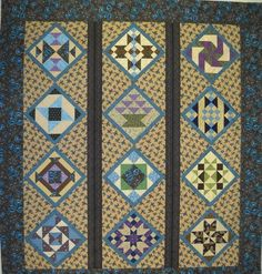 I hope these quilts inspire you to look forward to/participate in..the 2012 Second Saturday Sampler.  Mark your calendars for Feb. 11th for ...