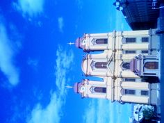The Catholic Dome in Union Square, Timisoara, Romania